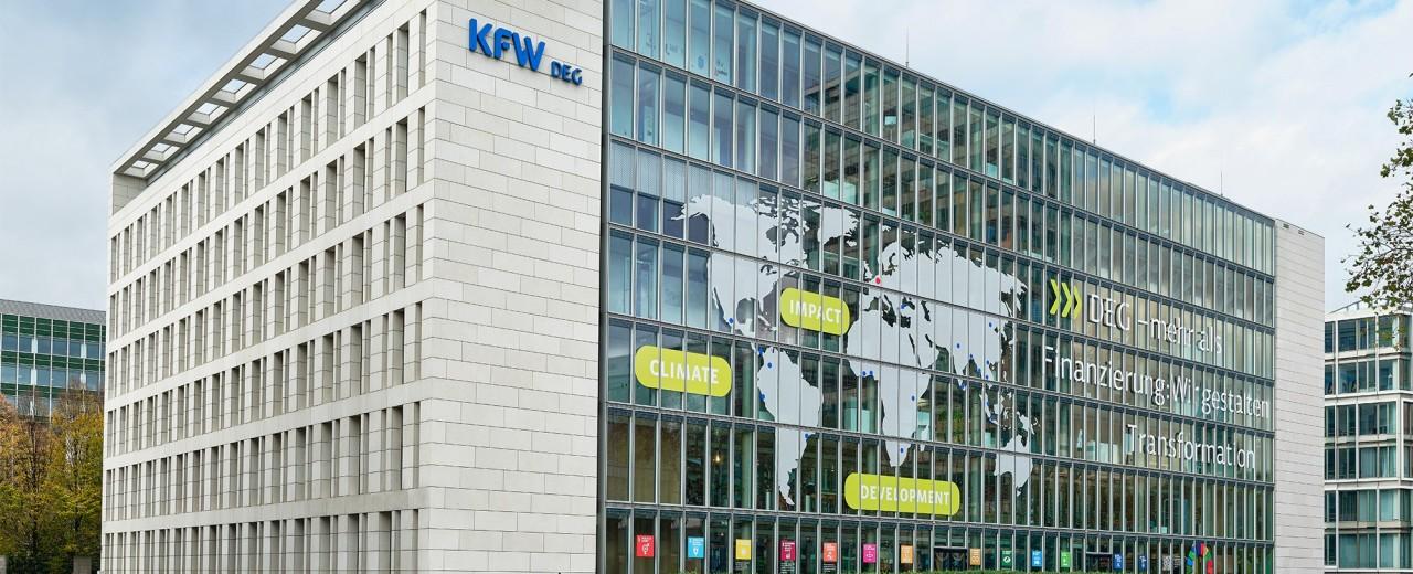 Gebäude der DEG in Köln