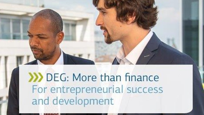 DEG: More than finance - Newsletter