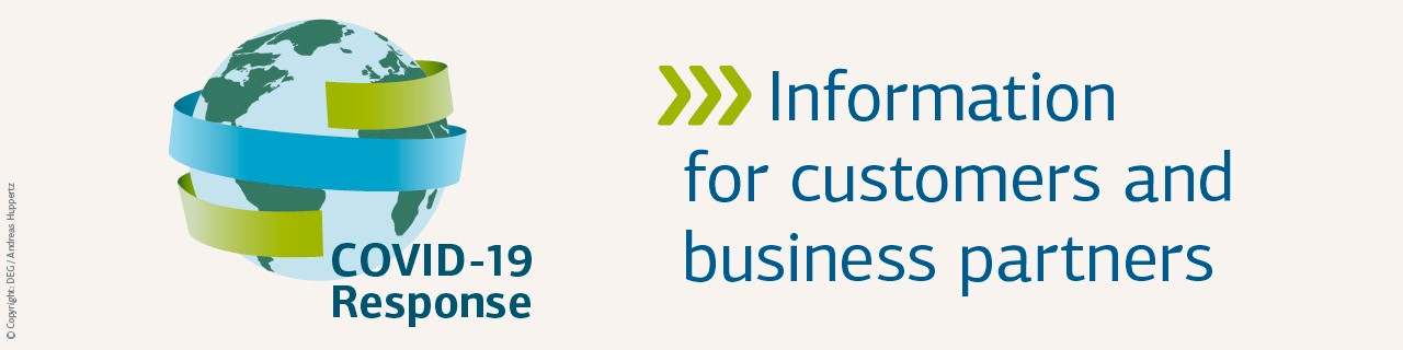 Covid-19 Response: DEG information for customers and business partners