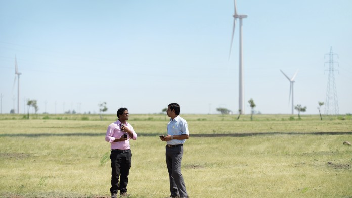DEG invest Bhoruka power wind energy