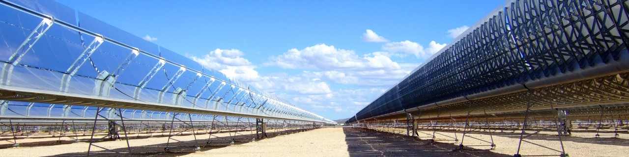 Bokpoort concentrated solar power plant in the South African province of Nordkap