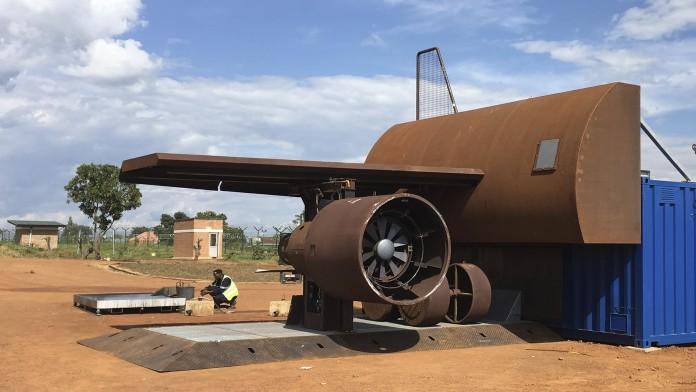 Brandsimulationsanlage Dräger Ruanda