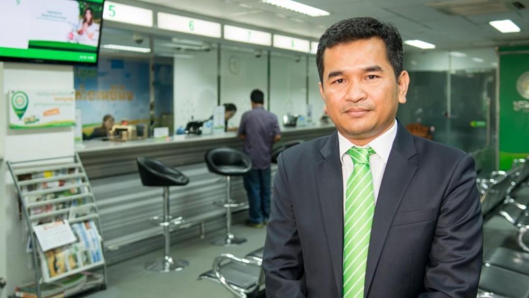 Say Sony, Vize-Präsident des Mikofinanzinstituts PRASAC, Kambodscha