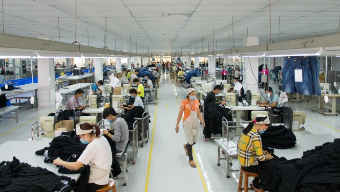 Commendable production hall in Vietnam