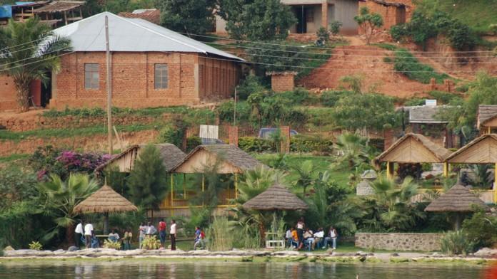 Fluss in Ruanda